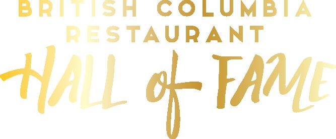 BC Restaurant Hall of Fame Gala